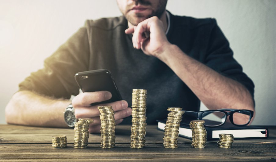 Calculating Finance with smartphone